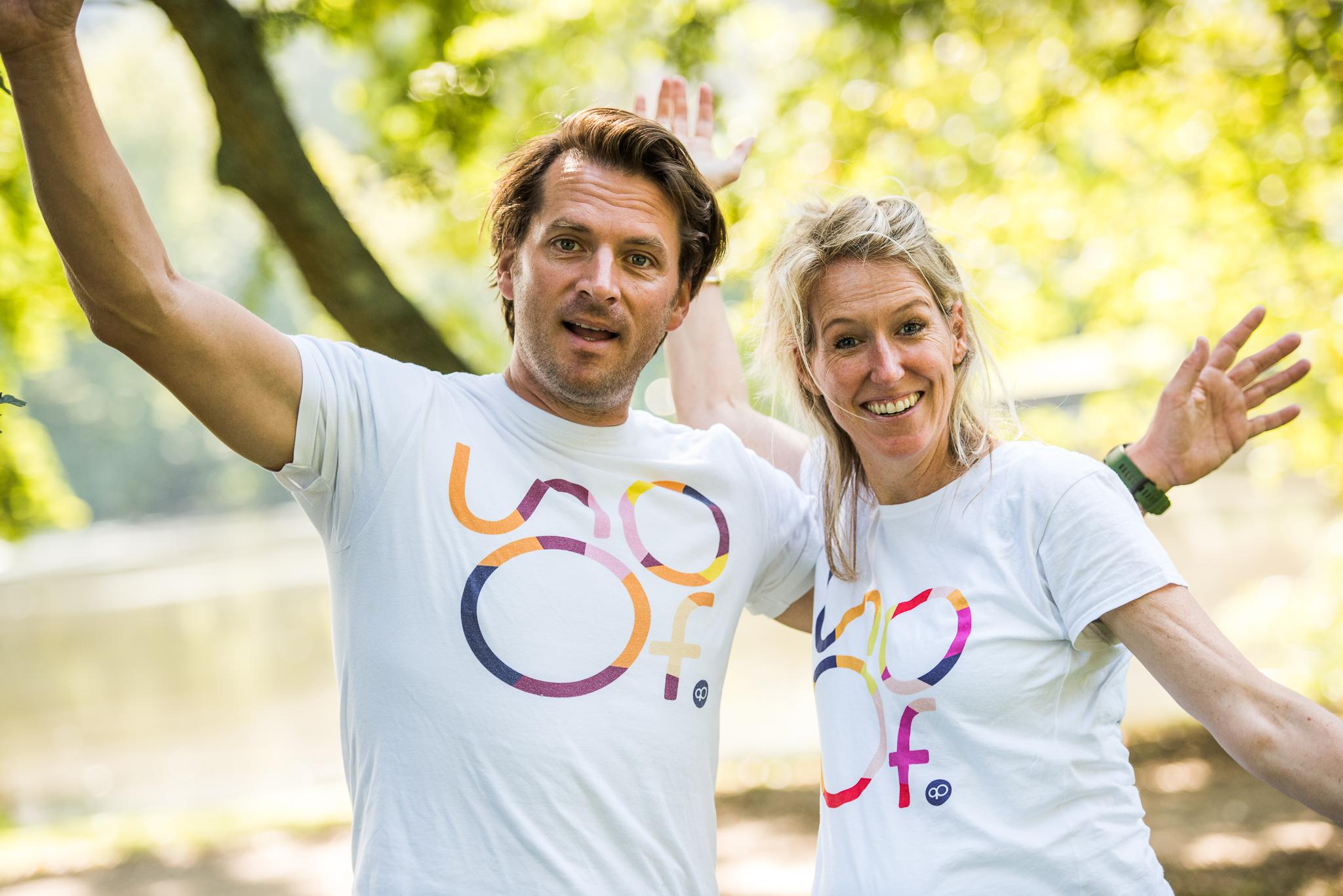 Nicole en Daan, oprichters van Soof